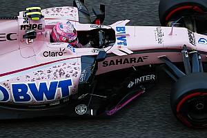 Forma-1 Információk a tesztről Force India: Sokat tanultunk a gumiteszten