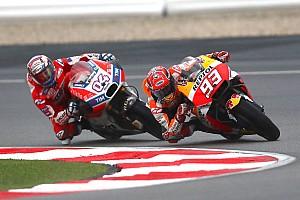 """MotoGP Noticias de última hora Márquez: """"Nuestra mejor orden de equipo es que Pedrosa gane en Valencia"""""""