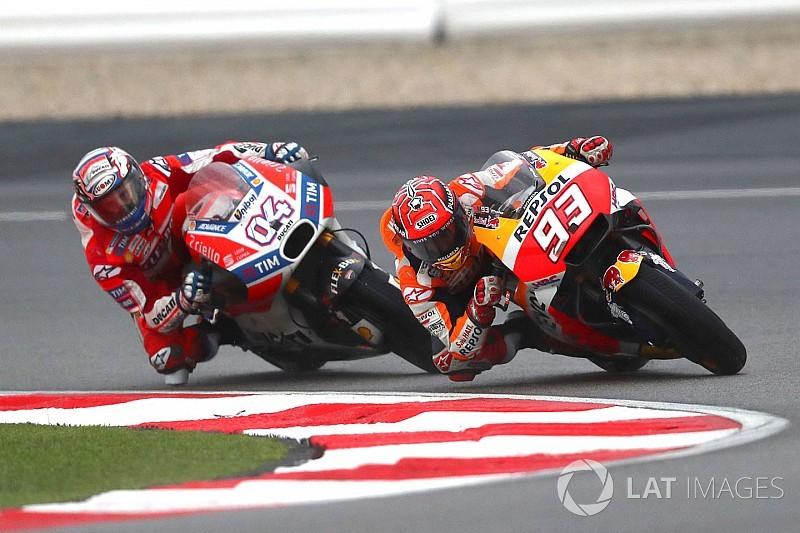 Veja a matemática da decisão entre Márquez e Dovizioso