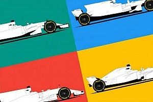 Формула 1 Самое интересное Тест: угадайте машину Формулы 1 без ливреи