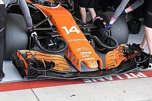 F1 Noticias de última hora El nuevo alerón delantero de McLaren ilusiona para 2018