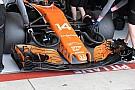 El nuevo alerón delantero de McLaren ilusiona para 2018
