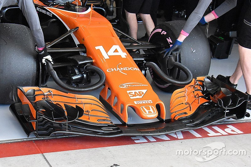 Tech analysis: The upgrade mitigating McLaren's US GP letdown