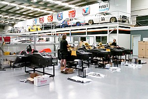 Four new S5000 chassis arrive in Australia
