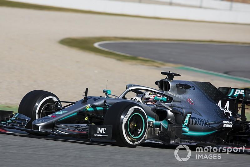Hamilton: New Mercedes F1 car