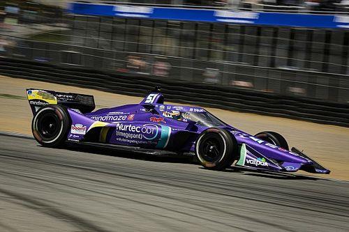 Grosjean troisième à Laguna Seca après une folle remontée