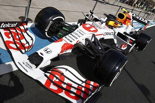 Red Bull reveals white Honda F1 livery for Turkish GP