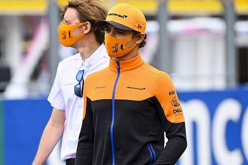 Lando Norrisexplique ses douleurs par la longue pause sans F1