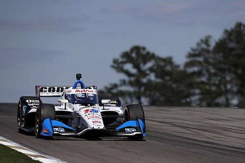 Barber IndyCar: Rahal leads Grosjean in warm-up