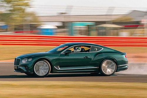 Ha valakinek az volt a baja, hogy Bentleyvel nem lehet driftelni, a Continental GT Speed ezt megoldja