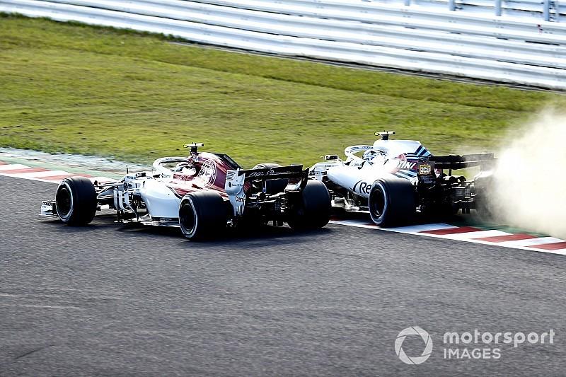 Відео: аварія гонщиків Sauber на трасі Сузука