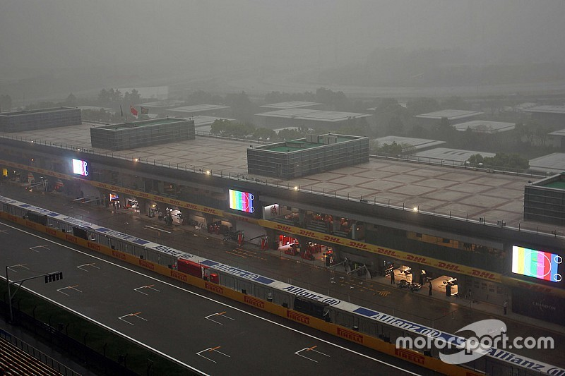 Команды Формулы 1 готовятся к дождевой квалификации