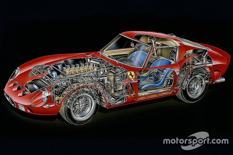 Cutaway Analysis Ferrari 250 Gto