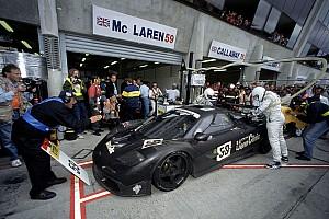 Le Mans 速報ニュース ル・マン参戦を試みるマクラーレン、LMP1規則の改定を望む