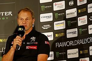 World Rallycross Breaking news Peugeot World RX principal Hansen set to land sporting role