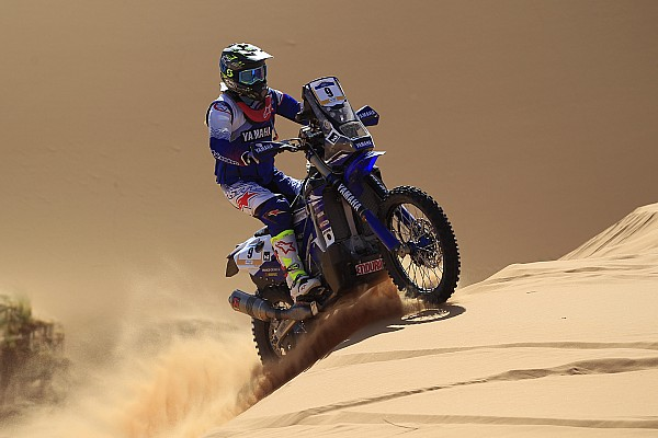 Cross-Country Rally Leg report Merzouga Rally: Caimi wins his first stage as a Yamaha rider