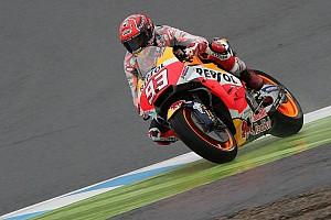 MotoGP Nieuws Marquez en Pedrosa met vraagtekens na natte eerste dag op Motegi