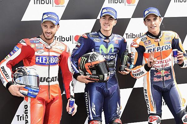"""MotoGP Noticias de última hora Márquez: """"El Mundial es cosa de tres y se decidirá en Valencia"""""""