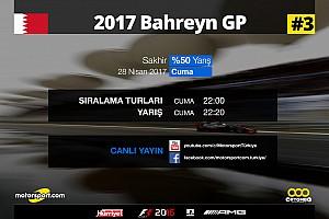 FORMULA 1 LİGİ Son dakika 2017 Bahreyn GP Sanal Turnuva: Canlı Yayın