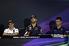 Formula 1 Monaco GP: Wednesday's press conference