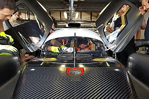 Ле-Ман Новость Кубица протестирует прототип SMP Racing перед «Ле-Маном»