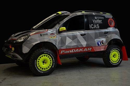 Un Panda quiere conquistar el Dakar