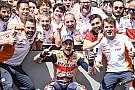 Márquez avait pris Dovizioso comme référence pour la course