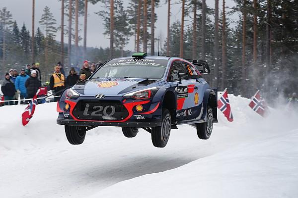 Экипажи Hyundai захватили первые три позиции на Ралли Швеция