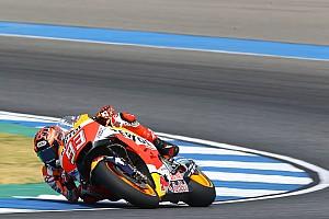 MotoGP Résumé d'essais Essais Buriram - J2 : Márquez meilleur temps pour son anniversaire
