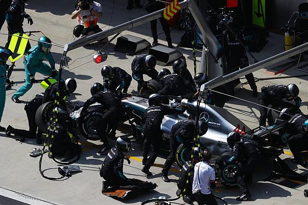 Mercedes verbeterde eigen pitstoprecord in China