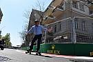 Forma-1 Pályabejáráson az F1-es csapatok Bakuban