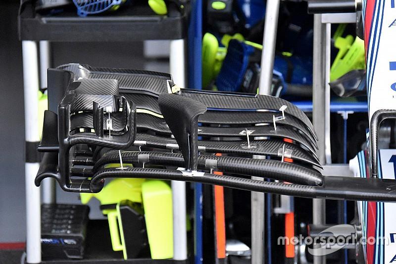У Williams презентували нове переднє антикрило