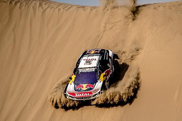 Dakar Stage 4: Loeb tercepat, banyak peserta alami masalah
