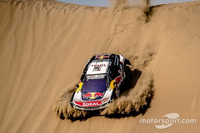 dakar 2018 stage 4 loeb fastest on attrition heavy day. Black Bedroom Furniture Sets. Home Design Ideas