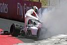 Formule 1 Ericsson explique pourquoi il s'est extrait lentement de sa F1 en feu