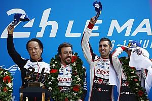 2018 Le Mans 24 saat: Alonso'nun ekibi #8 Toyota kazandı!