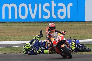 MotoGP Galería Galería del incidente entre Márquez y Rossi en Argentina
