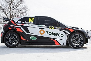 World Rallycross Breaking news Gronholm to field ex-WRC Hyundais in World RX