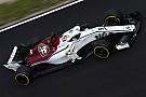 Fotostrecke: Der Alfa Romeo Sauber C37 im Barcelona Test 2