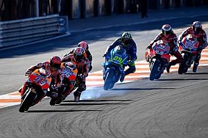 MotoGP Fotostrecke MotoGP-Finale in Valencia: Das Rennen in der Foto-Chronologie