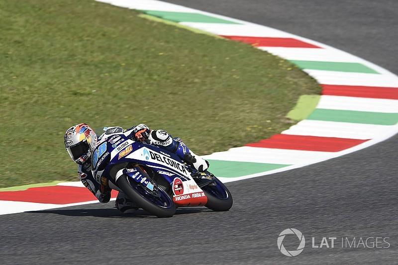 Apretada victoria de Martín en Moto3