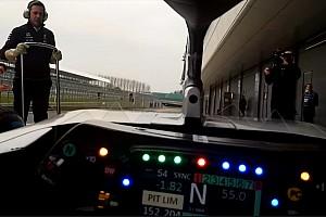 Onboard: Aksi Bottas di mobil Mercedes W09 dengan Halo