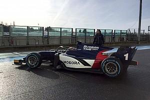 FIA F2 News Formel 2 2018: Neues Auto erstmals auf der Rennstrecke