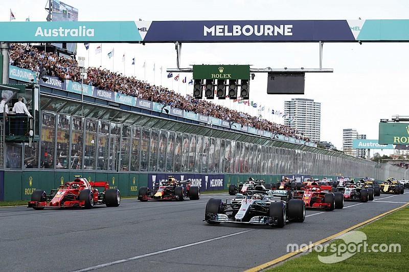 Pirelli dévoile les sélections de pneus pour le GP d'Australie