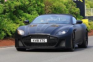 Auto Actualités L'Aston Martin DBS Superleggera Volante s'affûte