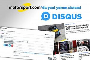 GENEL Son dakika Motorsport.com yorum sistemi değişti!