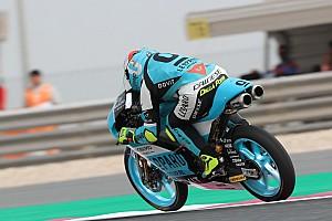 Moto3 Verslag vrije training Moto3 Qatar: Dalla Porta topt warm-up, crash voor favoriet Martin