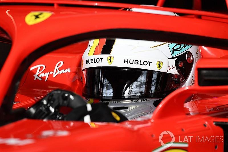 """Vettel : """"Nous avons travaillé d'arrache-pied"""""""