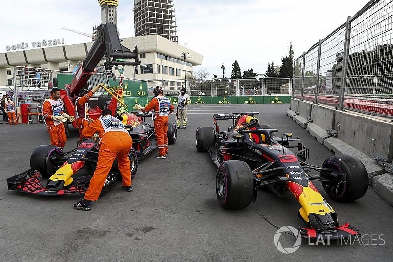 Red Bull, yarıştan önce kaza ihtimalini konuşmuş