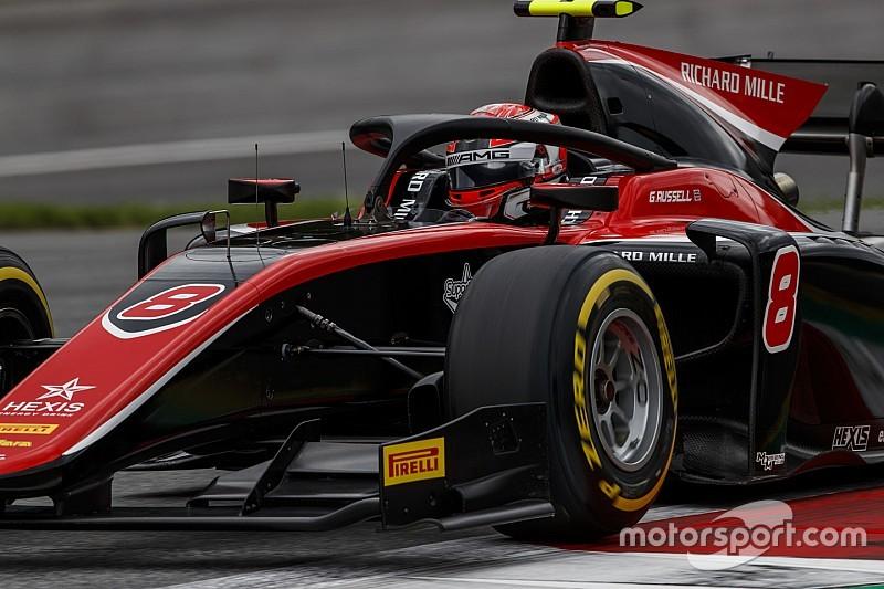 Russell gana en la carrera principal en Austria